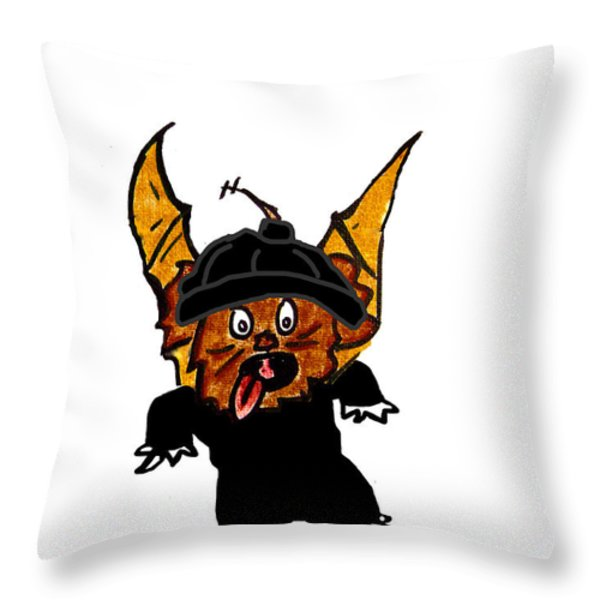 Coco as Thief Throw Pillow by Jera Sky