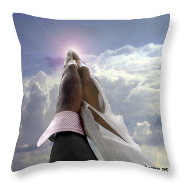 Come As You Are Throw Pillow by Reggie Duffie