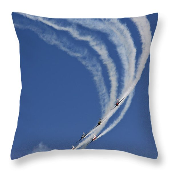 Coming Back From Heaven Throw Pillow by Angel  Tarantella