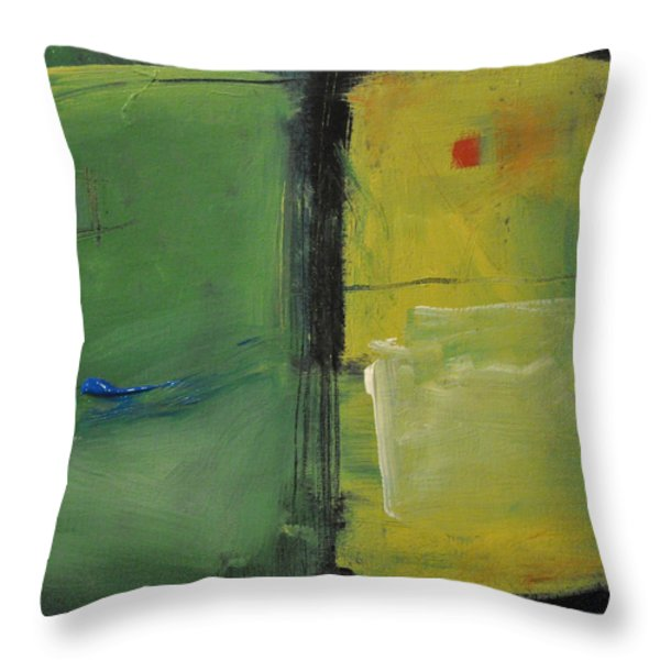 Conversation With Rothko Throw Pillow by Tim Nyberg