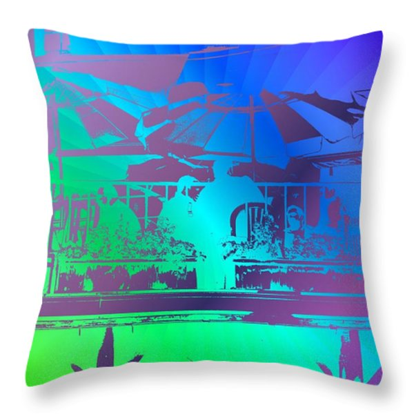 Copacabana Throw Pillow by Tim Allen