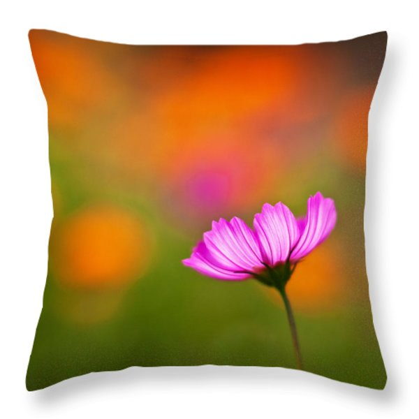 Cosmo Pastels Throw Pillow by Mike Reid