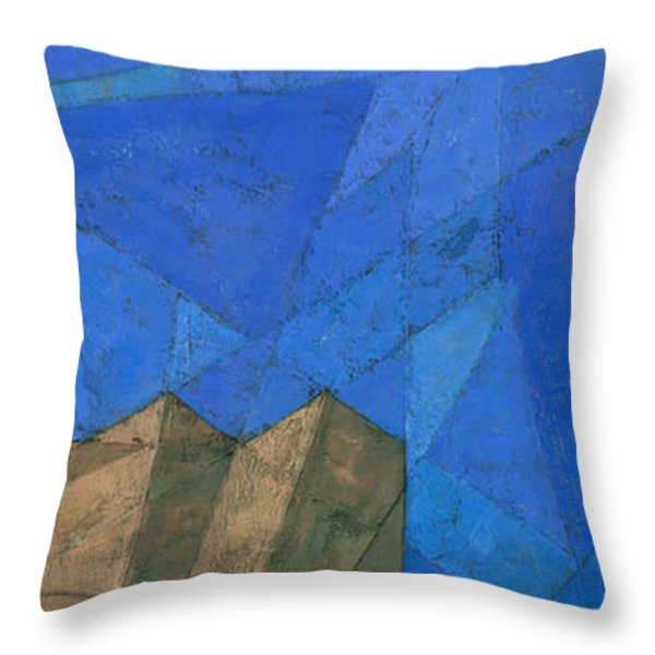 Cote D Azur I Throw Pillow by Steve Mitchell