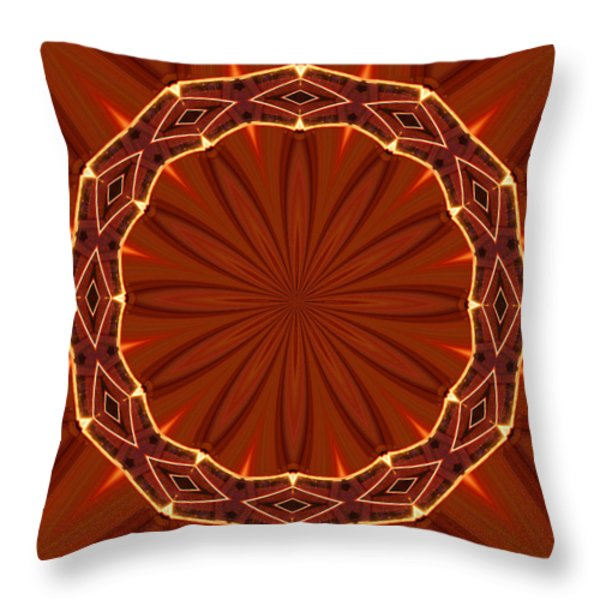 Crown of Thorns Throw Pillow by Kristin Elmquist