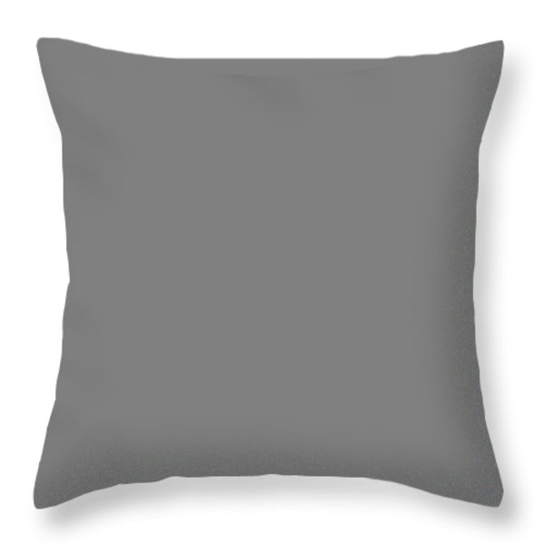 Crying mask on piano keys Throw Pillow by Garry Gay