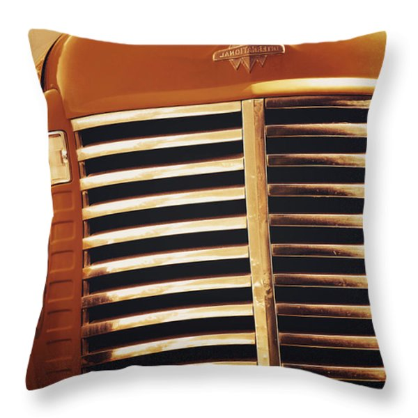 Curbside Classic Throw Pillow by Christine Till