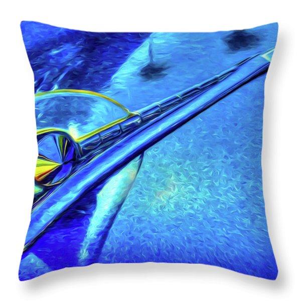 Da Hood Throw Pillow by Paul Wear