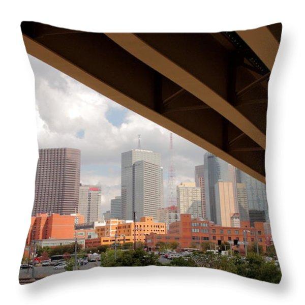 Dallas Backside Throw Pillow by Robert Frederick