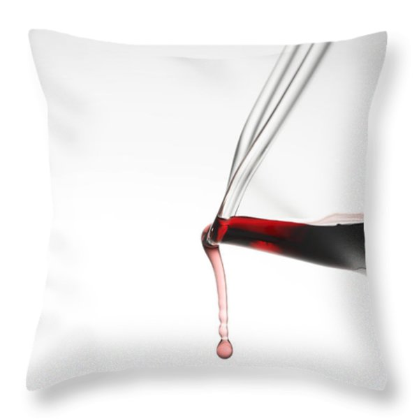 Decanter Throw Pillow by Frank Tschakert