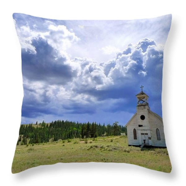 Defiant Throw Pillow by Skip Hunt