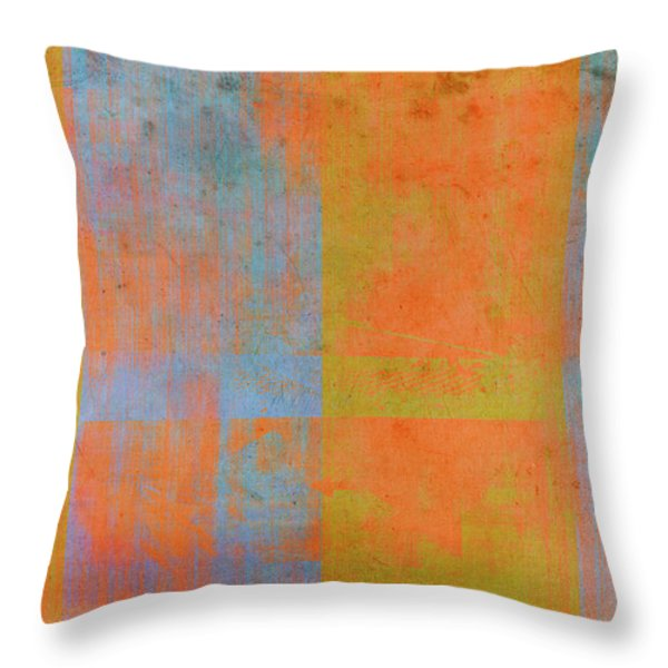 Desert Mirage Throw Pillow by Julie Niemela