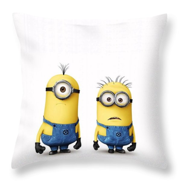 Despicable Me 2  Throw Pillow by Movie Poster Prints