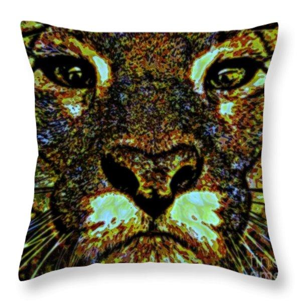 Determination Throw Pillow by WBK