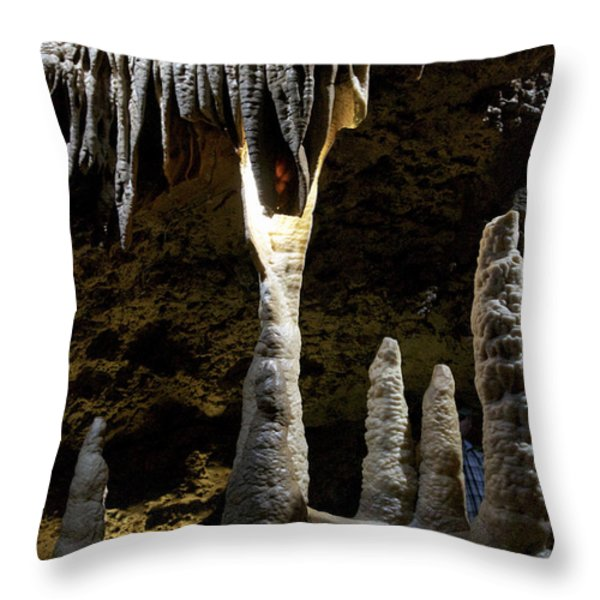 Devils's Cave 4 Throw Pillow by Heiko Koehrer-Wagner