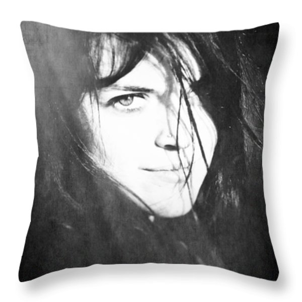 Diana's Eye Throw Pillow by Loriental Photography