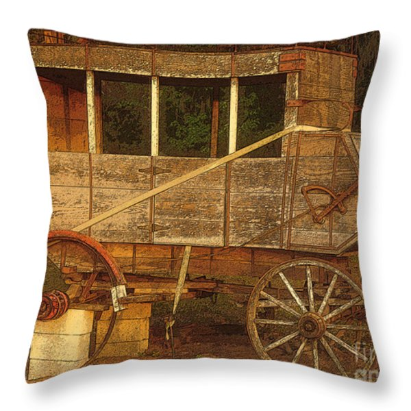 Dilapidated Throw Pillow by David Lee Thompson