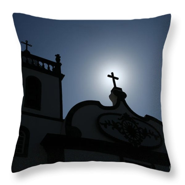 Divine Light Throw Pillow by Gaspar Avila