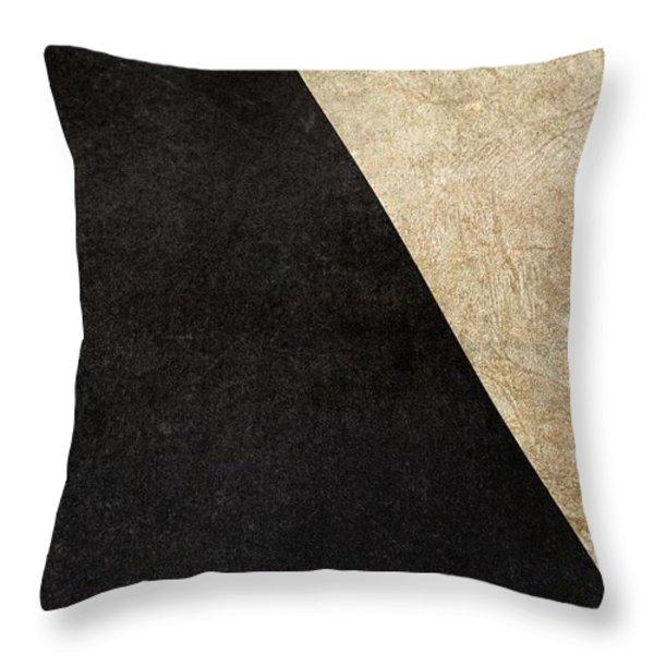 Division Throw Pillow by Brett Pfister