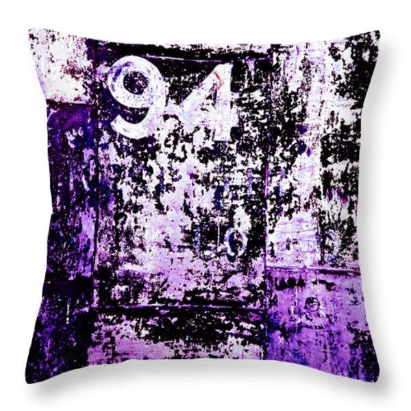 Door 94 Perception Throw Pillow by Bob Orsillo