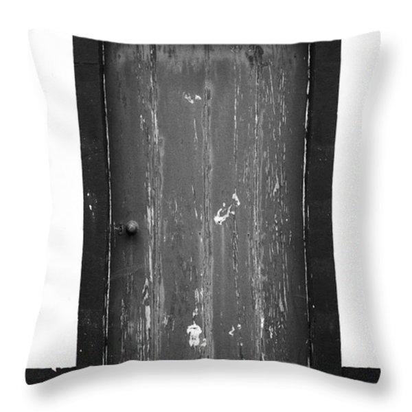 Door Throw Pillow by Gaspar Avila