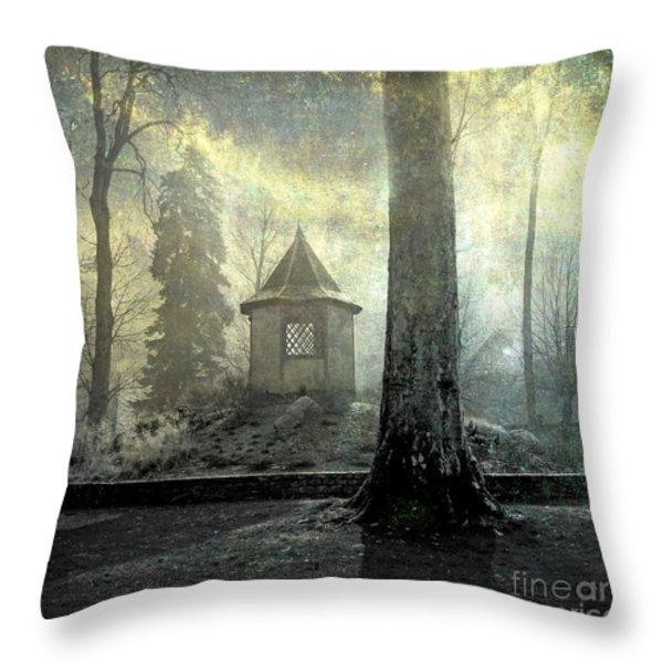 Dovecote Throw Pillow by BERNARD JAUBERT