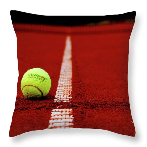 Down And Out Throw Pillow by Hannes Cmarits