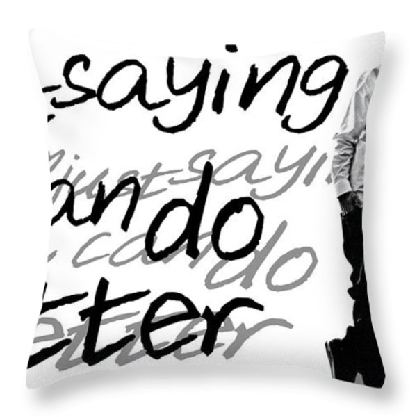Drake - Do Better by GBS Throw Pillow by Anibal Diaz