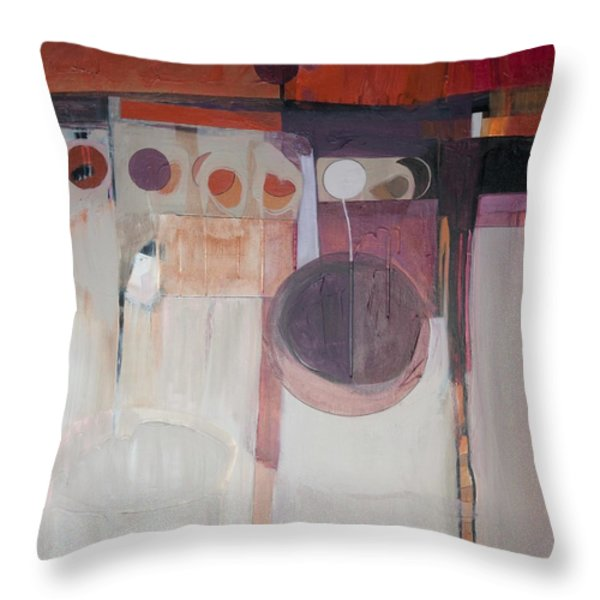 Drama Throw Pillow by Marlene Burns