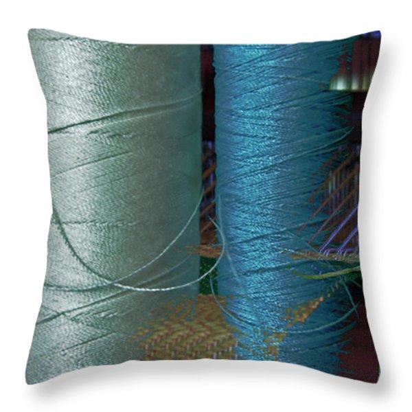 Dream Weaver Throw Pillow by David Kehrli