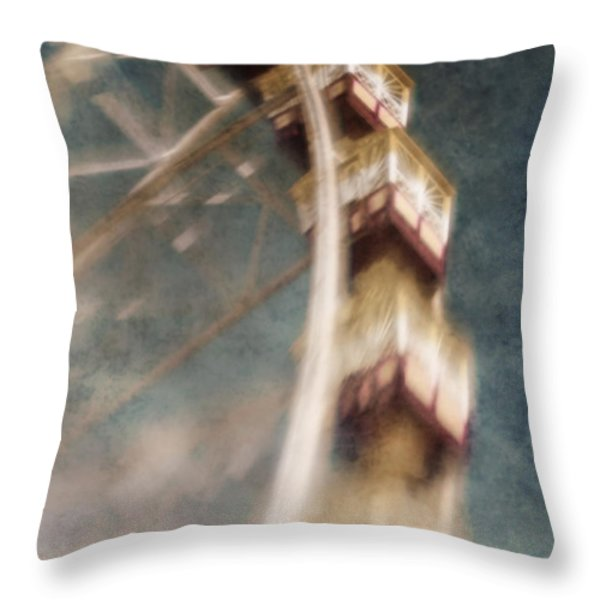Dreamscape Throw Pillow by Andrew Paranavitana