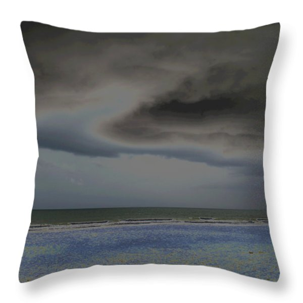 Dreamscape Throw Pillow by Suzanne Gaff