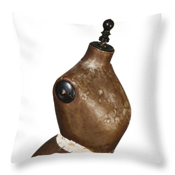 Dressmaking Throw Pillow by BERNARD JAUBERT