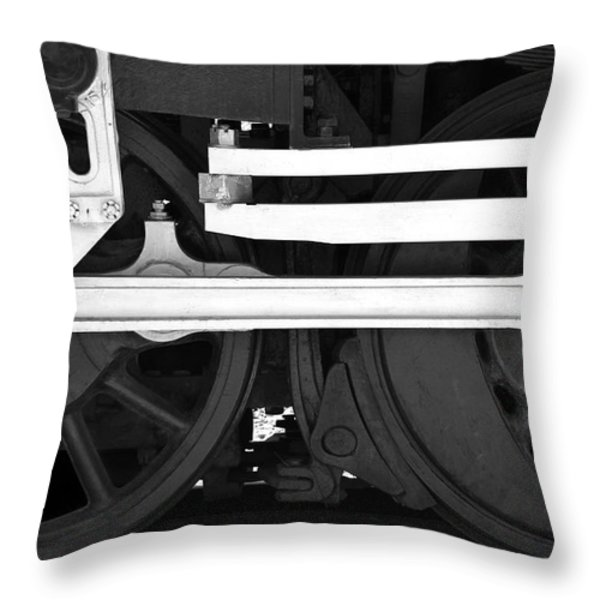 Drive Train Throw Pillow by Mike McGlothlen