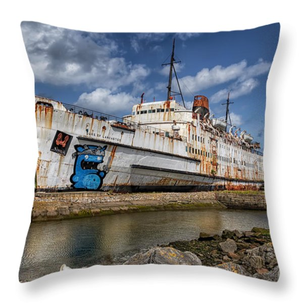 Duke of Lancaster  Throw Pillow by Adrian Evans