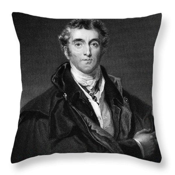 Duke Of Wellington Throw Pillow by Granger