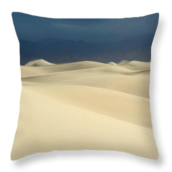 Dune Throw Pillow by Catherine Lau