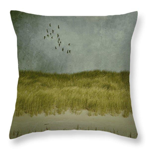 dunes Throw Pillow by Joana Kruse