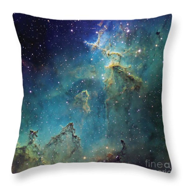 Dust Columns As Part Of The Melotte 15 Throw Pillow by Don Goldman