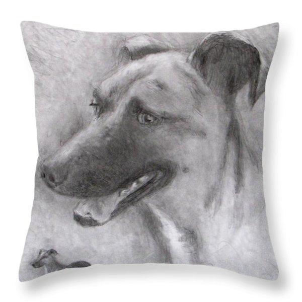 Eliot Throw Pillow by Jack Skinner