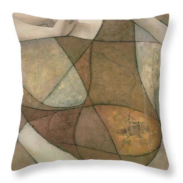 Elysium Throw Pillow by Steve Mitchell