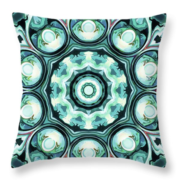 Emotions Throw Pillow by Lanjee Chee