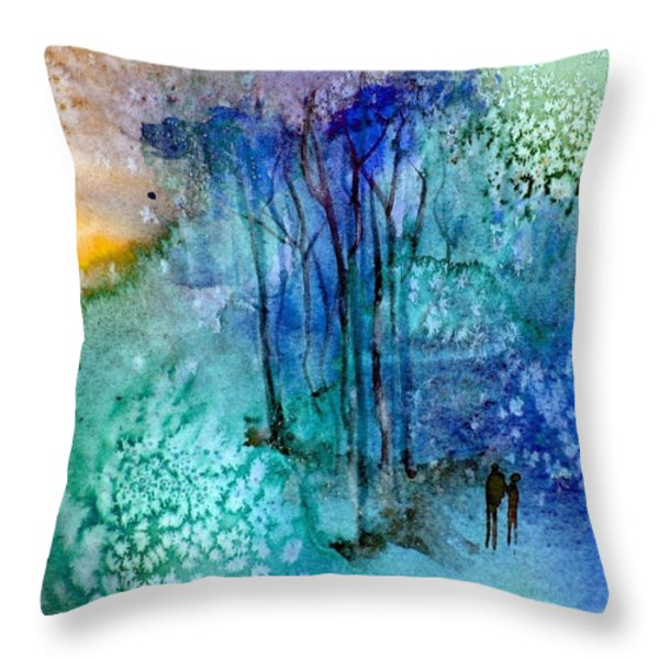 Enchantment Throw Pillow by Anne Duke