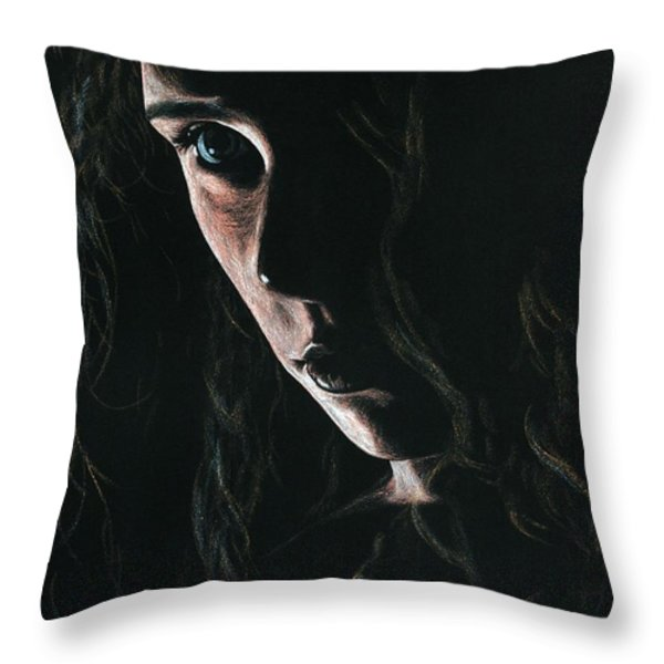 Enchantress Throw Pillow by Richard Young