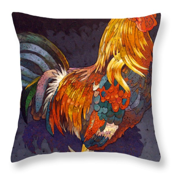 Encore Throw Pillow by Bob Coonts