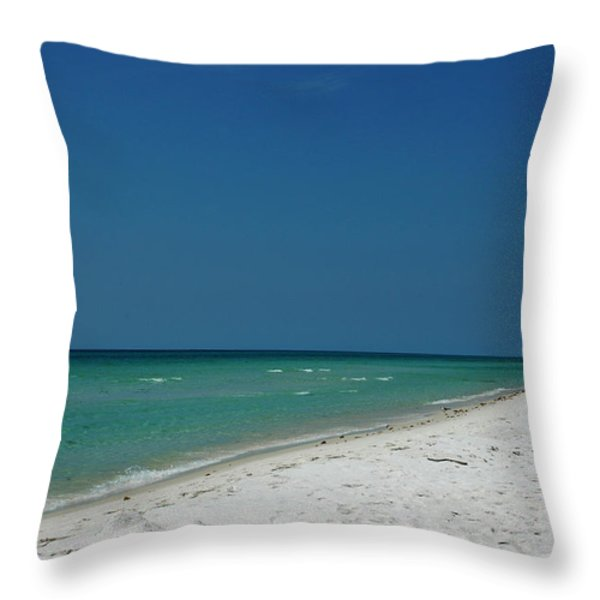 Endless Horizon Throw Pillow by Susanne Van Hulst