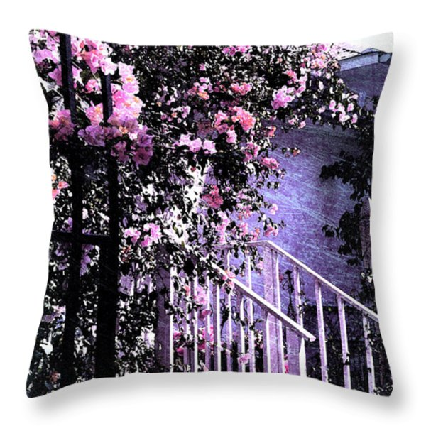 Endless Summer Throw Pillow by Susanne Van Hulst