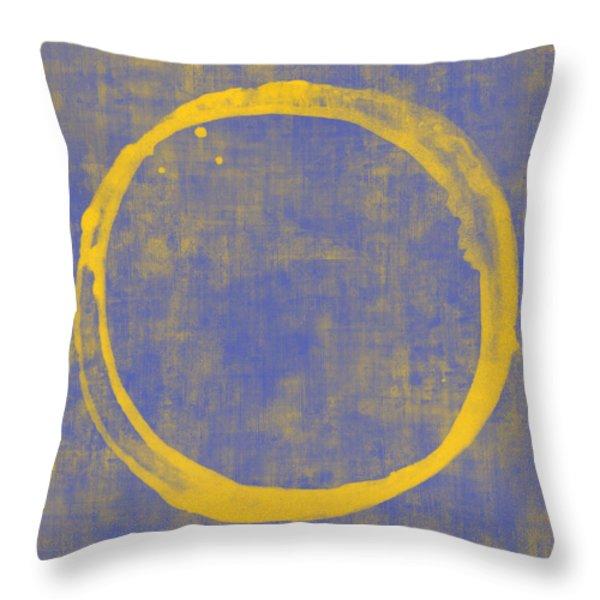 Enso 1 Throw Pillow by Julie Niemela
