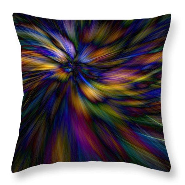 Essence Throw Pillow by Lauren Radke