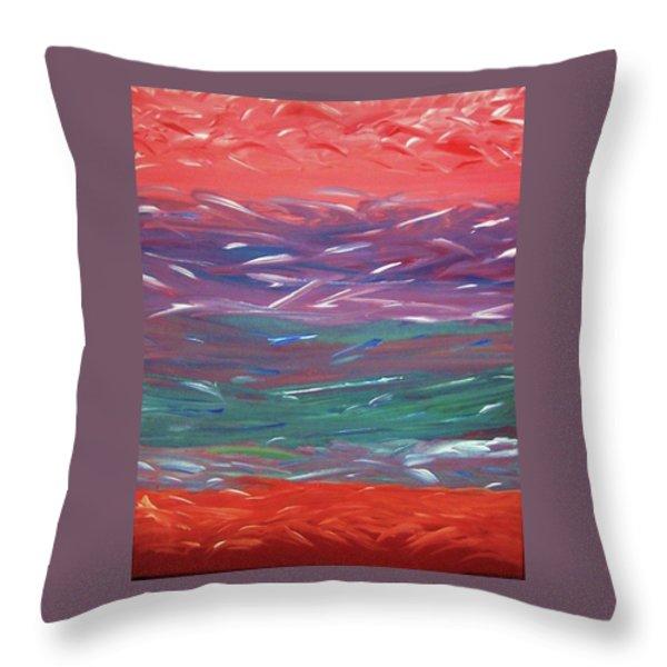 Essence Of The Mind Throw Pillow by Ilsy Bu Orellana