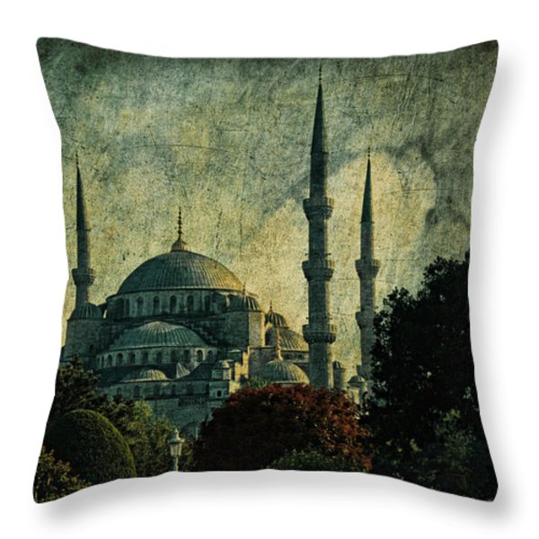 Eventide Throw Pillow by Andrew Paranavitana
